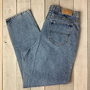 Riders vintage high rise tapered leg mom jeans